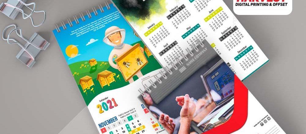 Jasa Cetak Kalender Murah Kualitas Bagus
